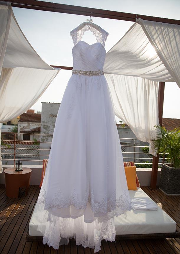 Cómo cuidar el vestido de novia pre boda