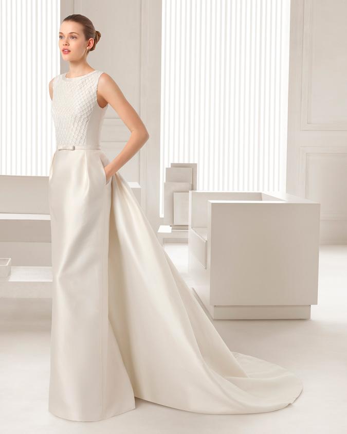 Vestidos de novia que se quita la cola