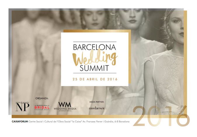 cartel promocional del I Wedding Summit celebrado en Barcelona