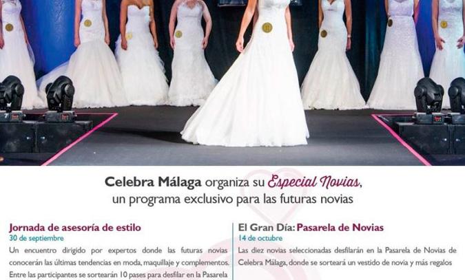 información detallada sobre el Especial Novias de Celebra Málaga