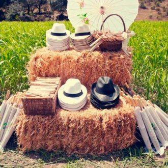 sombreros para invitados a boda en verano