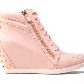 sneakers rosas para novia