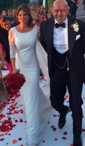 Kiko Matamros y Makoke recién casados entre sus invitados