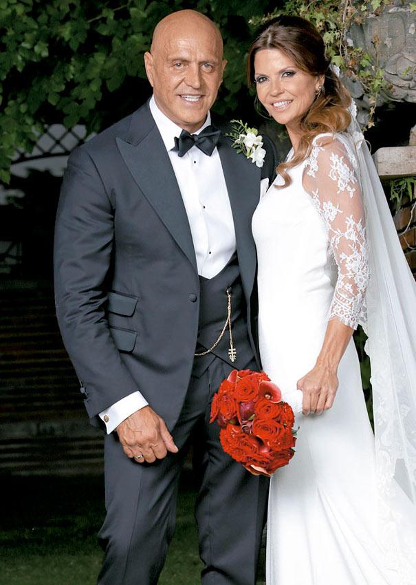 foto de la exclusiva de la boda de Kiko Matamoros y Makoke