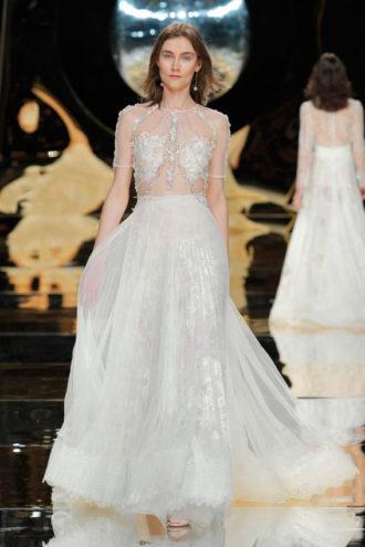 novia con vestido de YolanCris